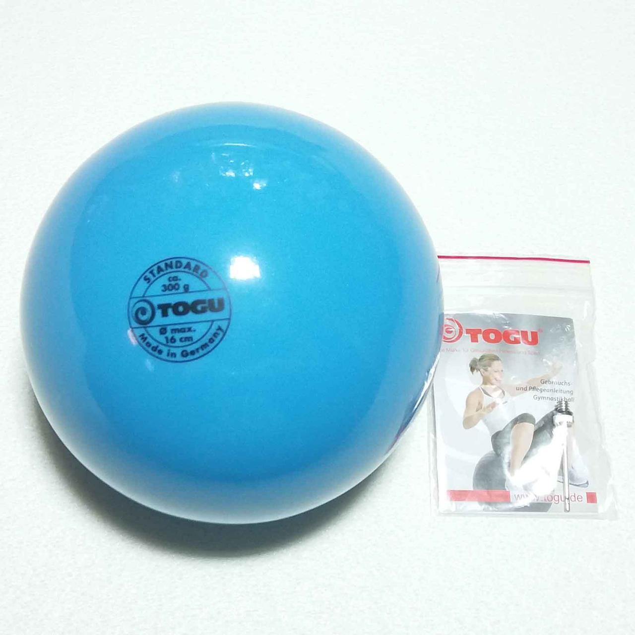 М'яч художньої гімнастики Togu FIG 300 гр, 16 см