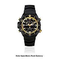 Водонепроницаемые часы Chris Benz Depthmeter Digital Gold MK1