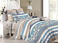 Комплект постельного белья двуспальный сатин, 100% хлопок. (арт.7804)