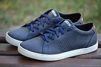 Мужские летние кроссовки Adidas синий (адидас, реплика) (реплика)