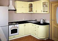 """Угловая кухня """"Готика 2,0 м х 1,6 м"""" Альфа-Мебель"""