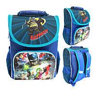 Школьный рюкзак с ортопедической спинкой для мальчика Batman - 87-1780