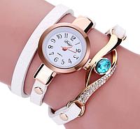 Часы браслет белые женские наручные
