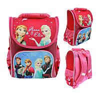 Школьный рюкзак с ортопедической спинкой для девочки Anna & Elsa - 87-1784