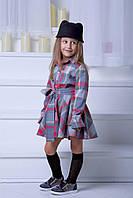 Детское стильное платье-рубашка