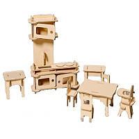 """Деревянная игрушечная мебель """"Кухня"""""""