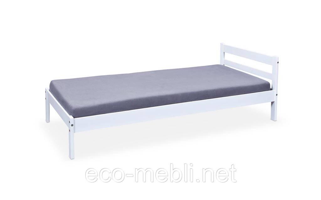 Ліжко Finy biały з ламелями