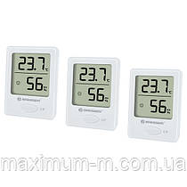 Термометр-гигрометр Bresser Temeo Hygro indicator (3шт) white