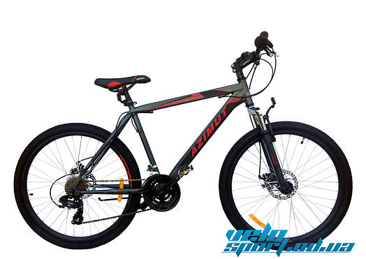 Горный велосипед Azimut Omega 26 GD+ (в улучшенной комплектации)