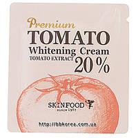 Пробник Skinfood Premium tomato whitening cream