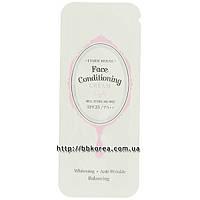 Пробник Etude House Face conditioning cream light SPF25 PA++