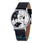 Дитячі годинники Mickey Mouse чорні