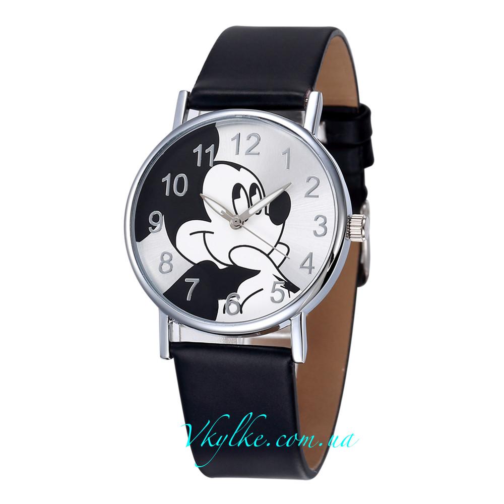 Детские часы Mickey Mouse черные - Интернет-магазин часов «В кульке!» в a3ccec7ae247f