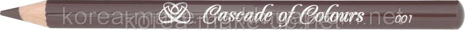 Карандаш  для бровей Каскад №001,002,003 (Cascade of Colours) - восковая серия, фото 2