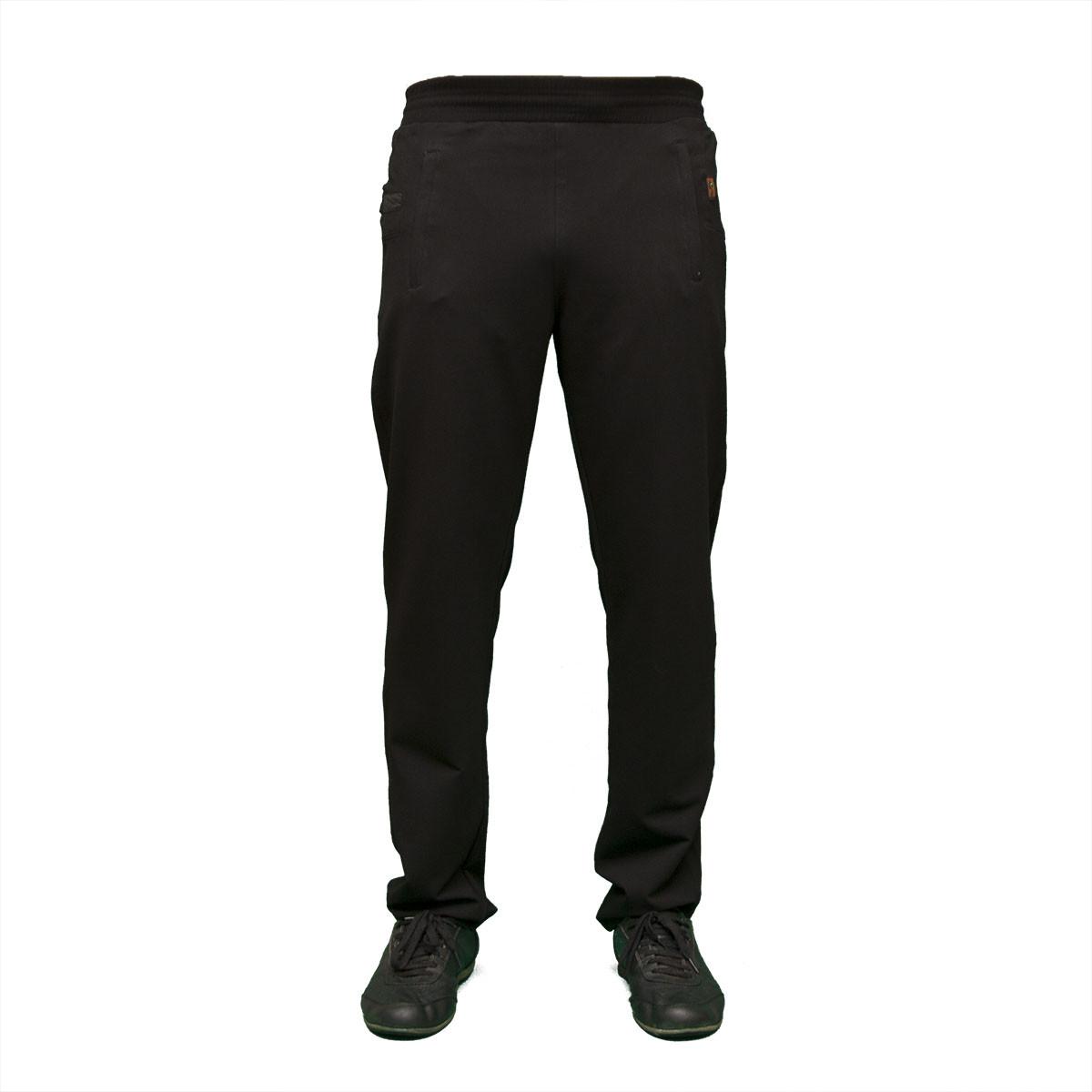 Спортивные черные трикотажные штаны  тм. FORE  9303