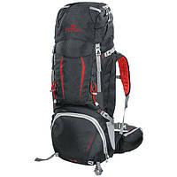 Рюкзак туристический Ferrino Overland 50+10 Black/Red