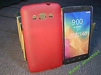 Чехол бампер силиконовый LG L60 X145 X135 X147 розовый