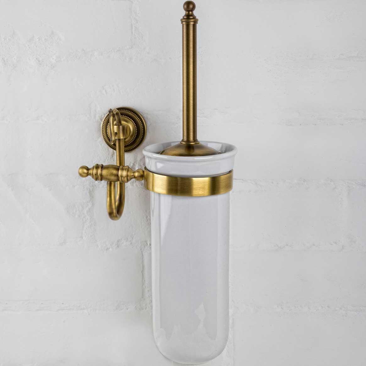 alis Туалетный ершик настенный Alis Versace V011K, бронза