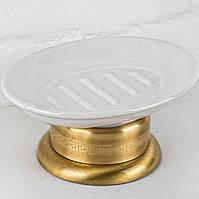 Мыльница настольная Alis Versace V027K, бронза