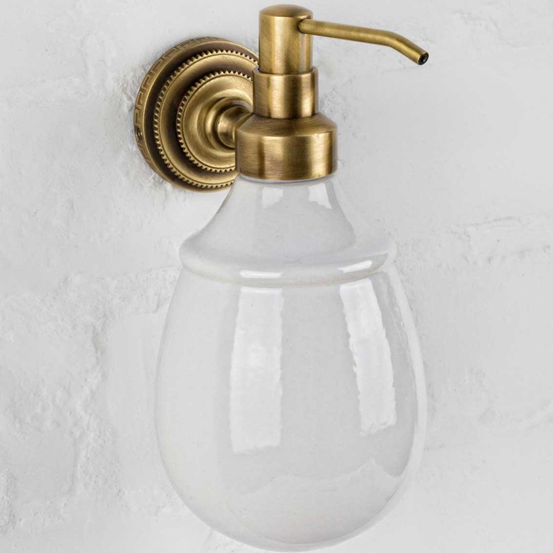 alis Дозатор для жидкого мыла настенный Alis Versace V040K, бронза