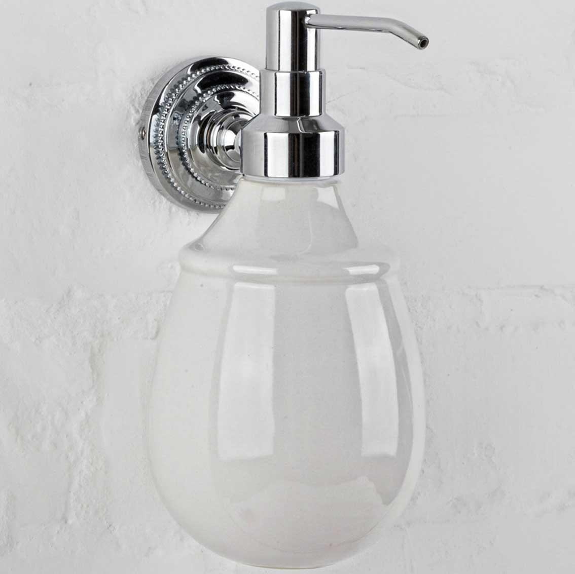 alis Дозатор для жидкого мыла настенный Alis Versace A214040K