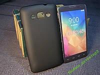Чехол бампер силиконовый LG L60 X145 X135 X147 черный