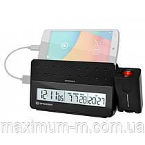Проекционные часы Bresser MyTime Pro black