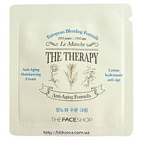 Пробник The Face Shop The Therapy Anti-aging Moisturizing Cream