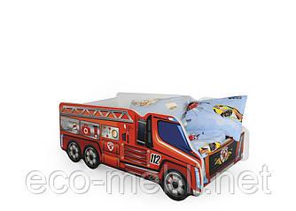 Дитяче ліжко Fire truck з матрацом