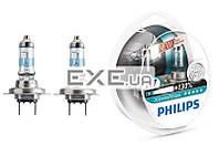 Лампа галогенная Philips H7 X-treme VISION +130%, 3700K, 2шт/ блистер (12972XV+S2)