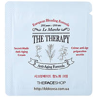 Пробник The face shop The Therapy Secret-Made Anti-Aging Cream