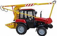 Навесное оборудование для очистки смотровых и дождевых колодцев МОК-188  на новом тракторе МТЗ-320.4