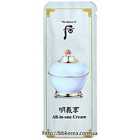 Пробник The History Of Whoo Myeonguihyang All In One Cream
