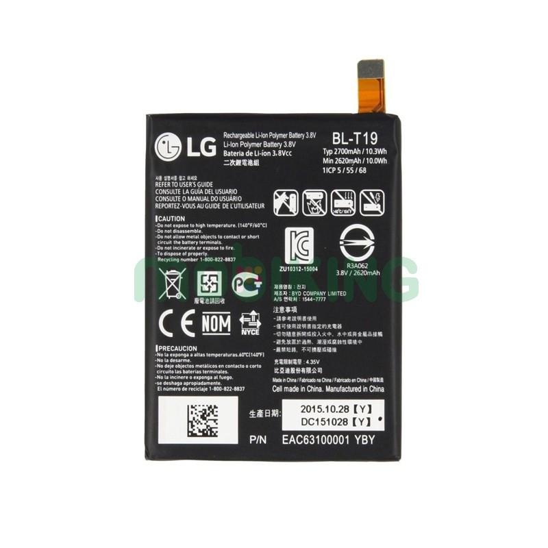 Оригинальная батарея LG Google Nexus 5x/H790/H791 (BL-T19) для мобильного телефона, аккумулятор для смартфона.