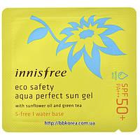 Пробник Innisfree eco safety aqua perfect sun gel