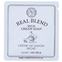 Пробник The Face Shop Real Blend Rich Cream Soap