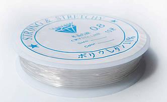 Леска-резинка силиконовая прозрачная