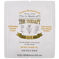 Пробник The Face Shop The Therapy Royal Made Oil Blending Cream