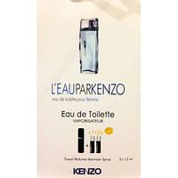 Туалетная вода с феромонами L`Eau Par Kenzo Pour Femme 3х15 мл.
