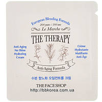 Пробник The Face Shop The Therapy Anti-Aging No Shine Hydrating Cream
