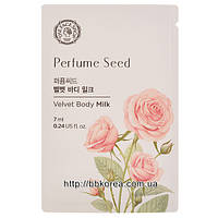 Пробник THE FACE SHOP Perfume Seed Velvet Body Milk