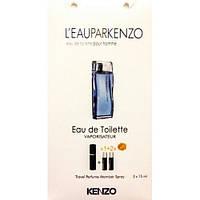 Туалетная вода с феромонами L`Eau Par Kenzo Pour Homme 3х15 мл.