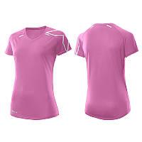 Женская футболка для бега 2XU WR3169a (розовый / розовый)