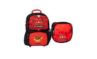 """Ранец первоклассника LEGO Ninjago """"Кай"""" с сумкой для обуви 16282"""