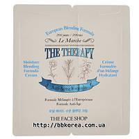 Пробник The Face Shop The Therapy Moisture Blending Formula Cream