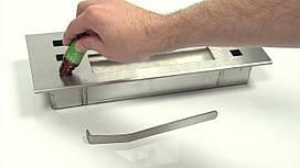 Горелка для биокамина длинная с аромотерапией