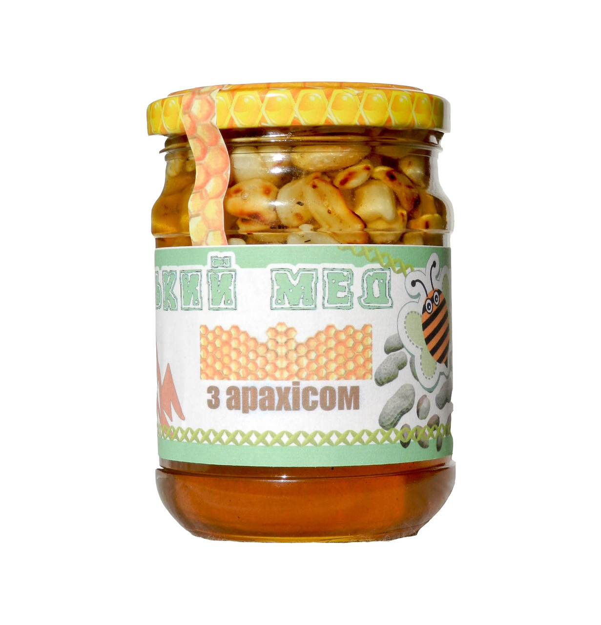 Мед з арахісом / 250 мл