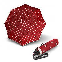 Зонт KNIRPS красный Зонт T.100 Dot Art Red  Авто/Складной/8 спиц /D97x23см