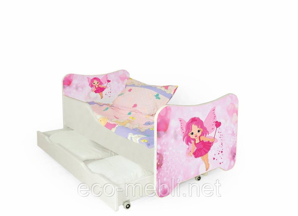 Дитяче ліжко Happy fair з матрацом