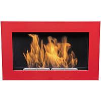 Биокамин  Nice-House  650x400 мм-красный глянец